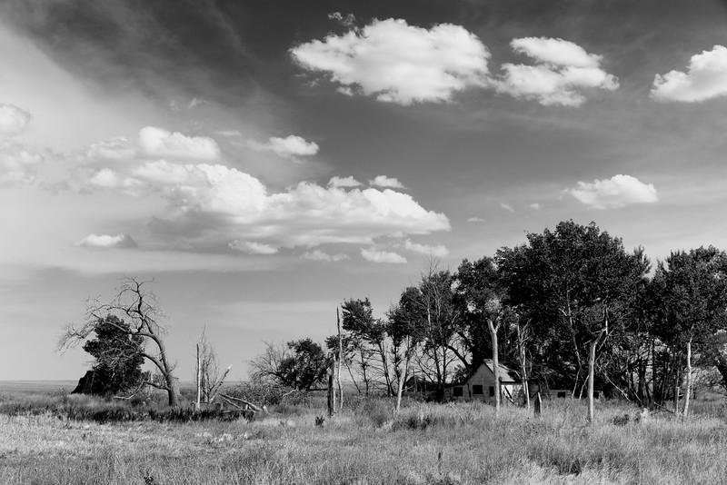 Abandoned Farmhouse, Scenic Twp, SD