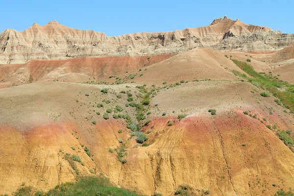Badlands Yellow Mounds