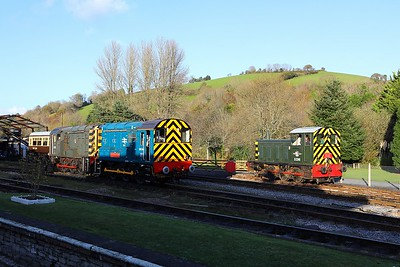 Shunters at Buckfastleigh