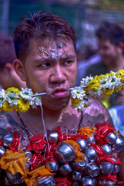 Chinese Devotee at Thaipusam