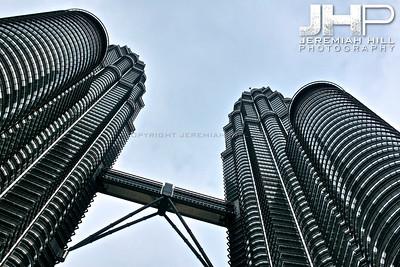 """Petronas Towers #4"", Kuala Lumpur, Malaysia, 2007 Print ML-552"