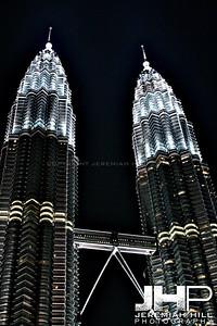 """""""Petronas Duo Night #2"""", Kuala Lumpur, Malaysia, 2007 Print ML-718"""
