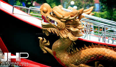 """Dragon Boat"", Singapore, 2007 Print SING-025"
