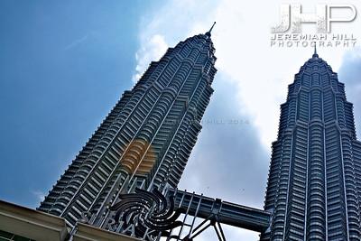 """Petronas Towers #1"", Kuala Lumpur, Malaysia, 2007 Print ML-349"