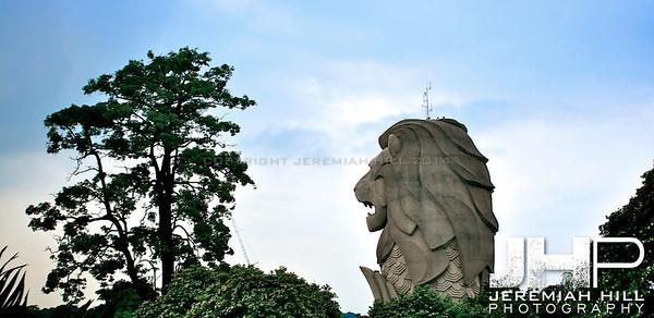 """The Mer Lion"", Singapore, 2007 Print SP-104"
