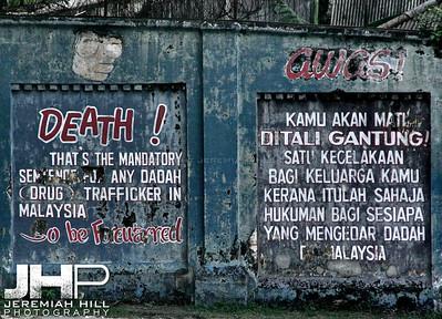 """""""Malaysian Prison Outer Wall"""", Kuala Lumpur, Malaysia, 2007 Print ML-701"""