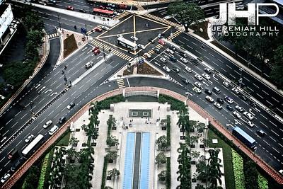 """Petronas View #1"", Kuala Lumpur, Malaysia, 2007 Print ML-510"