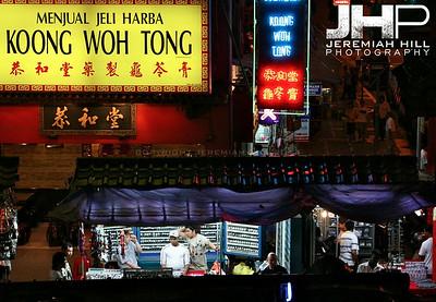 """""""Chinatown Market, Night"""", Kuala Lumpur, Malaysia, 2007 Print ML-345"""