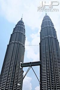 """Petronas Towers #2"", Kuala Lumpur, Malaysia, 2007 Print ML-360"