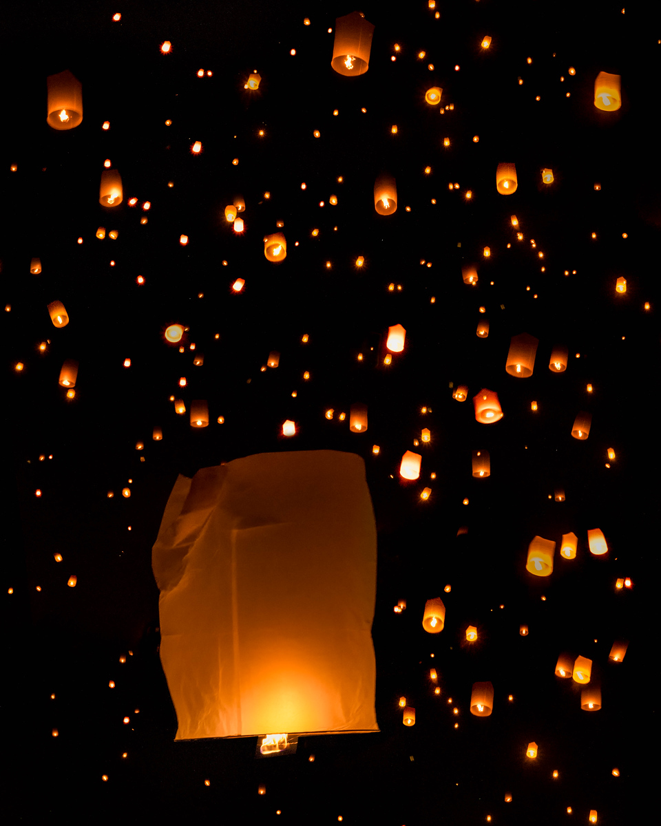 The Lantern Festival in Chiang Mai, Thailand