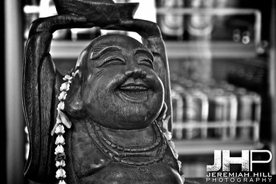 """Laughing In The Belly Of The Buddha"", Bangkok, Thailand, 2007 Print TH-038"