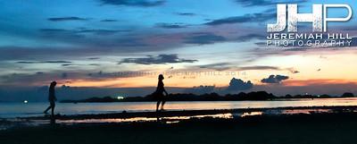 """Ko Phan Ngan Sunset In Silhouette"", Ko Phan Ngan, Thailand, 2007 Print TH-542V2"