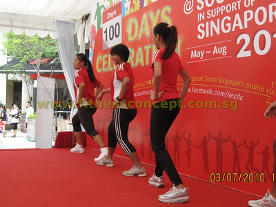 100 days Celebration at SE in Support of SYOG