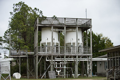 Research station at Hobcaw Barony