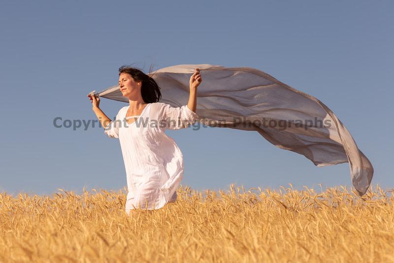 Wheat Farm Girl 273