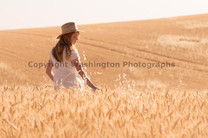 Wheat Field Girl 178