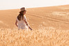 Wheat Field Girl 178