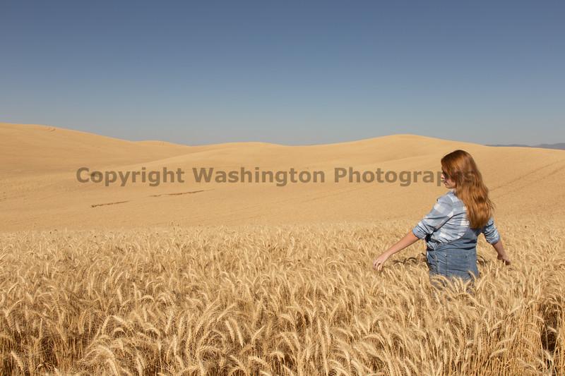 Wheat Field Girl 108