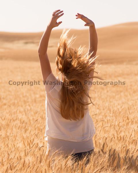 Wheat Field Girl 199