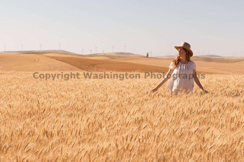 Wheat Field Girl 159
