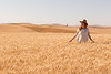 Wheat Field Girl 159