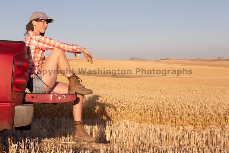 Wheat Farm Girl 270