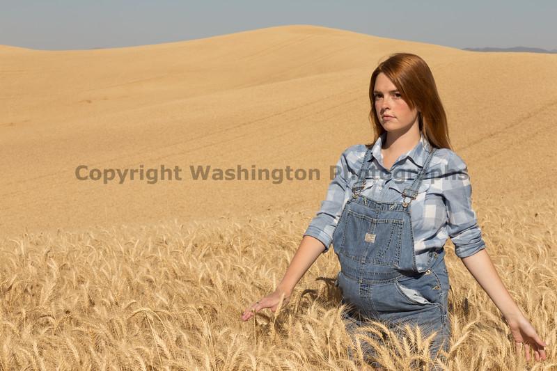 Wheat Field Girl 105