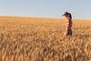 Wheat Farm Girl 272