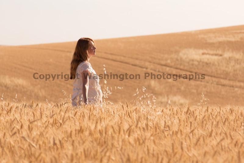 Wheat Field Girl 183