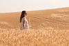 Wheat Field Girl 183