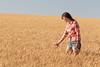 Wheat Farm Girl 266
