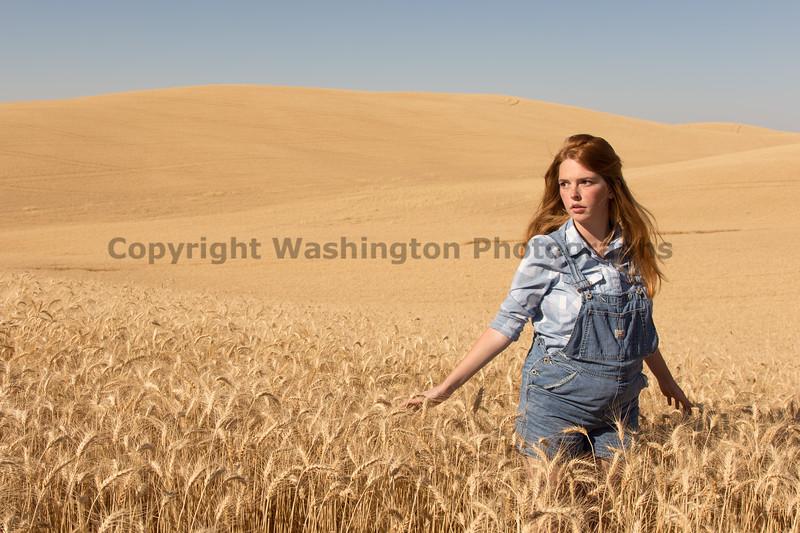Wheat Field Girl 141