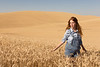 Wheat Field Girl 141