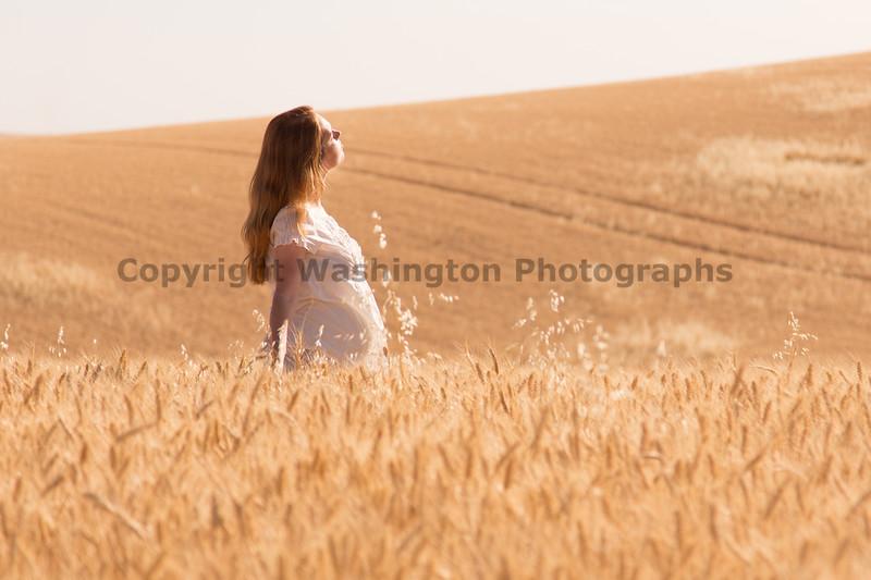 Wheat Field Girl 186