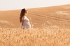 Wheat Field Girl 186