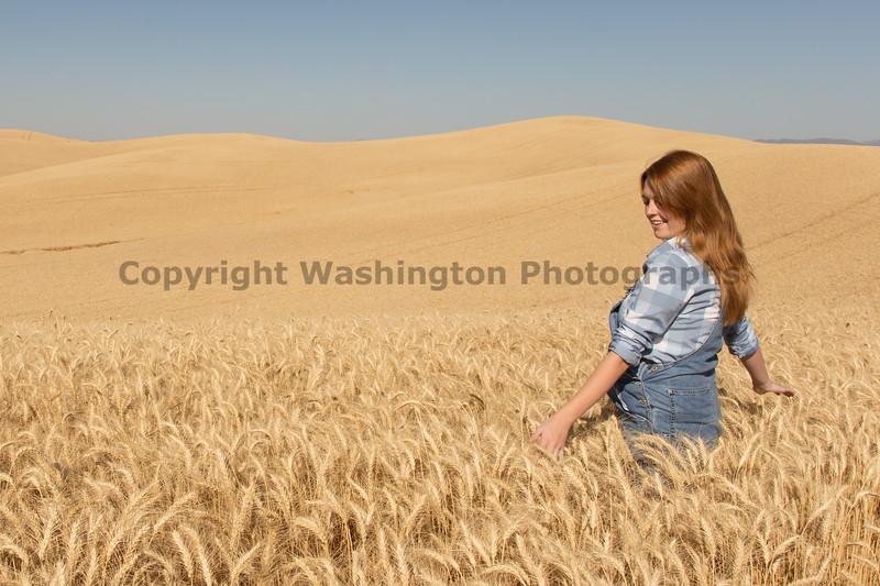 Wheat Field Girl 110