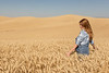 Wheat Field Girl 110