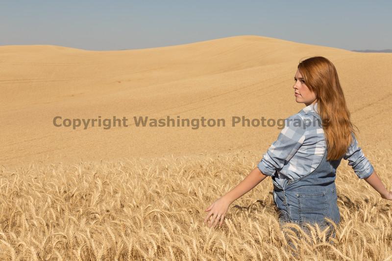 Wheat Field Girl 106