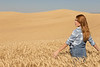 Wheat Field Girl 106