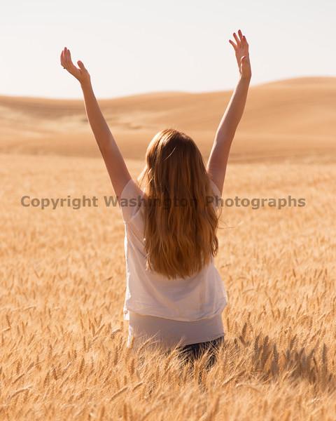 Wheat Field Girl 200