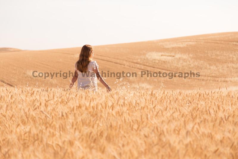Wheat Field Girl 184