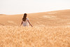 Wheat Field Girl 184