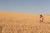 Wheat Farm Girl 264