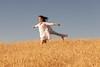 Wheat Farm Girl 276