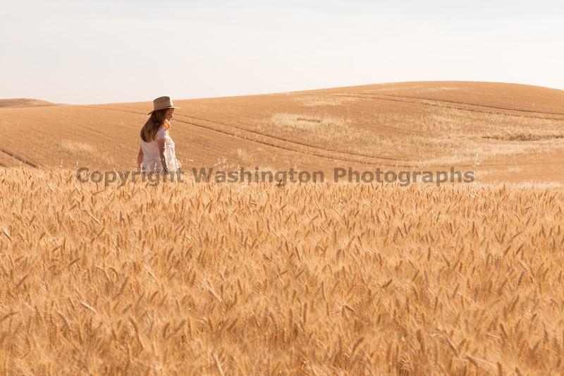 Wheat Field Girl 173