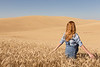 Wheat Field Girl 139