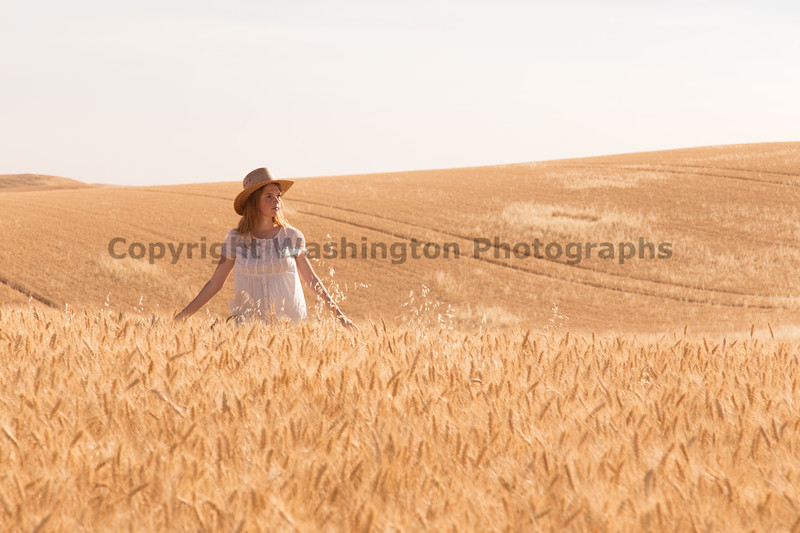 Wheat Field Girl 175