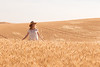 Wheat Field Girl 175