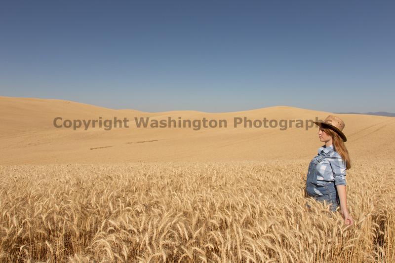 Wheat Field Girl 101
