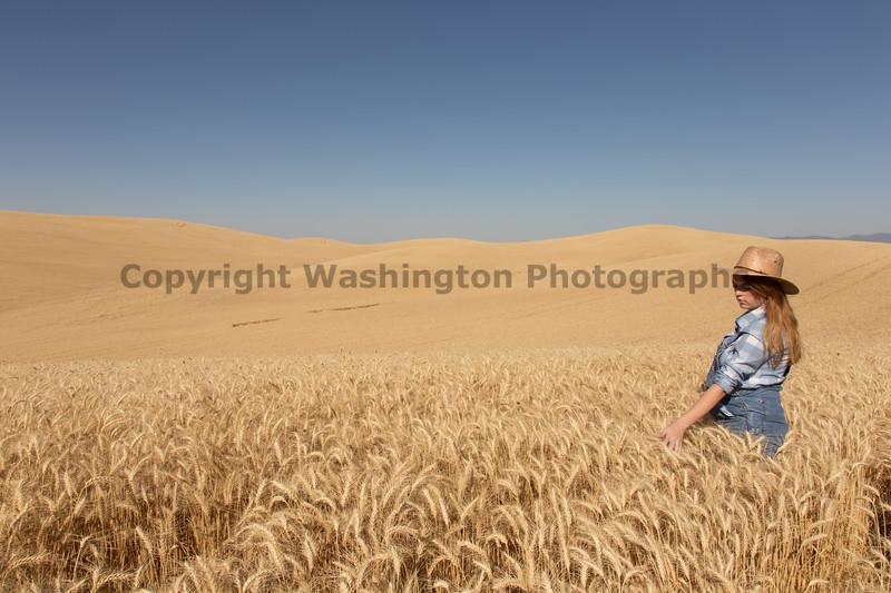 Wheat Field Girl 102